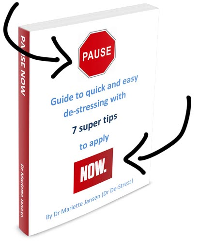 Cover of my Pause Now book