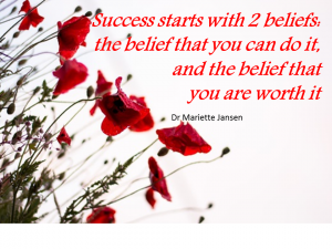 success and belief