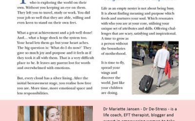 Darling column about Empty Nest Syndrome
