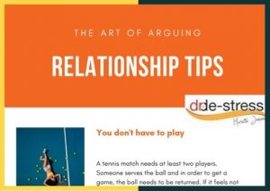 Relationship tips – how to have arguments that work for you