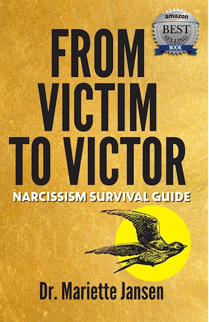 "Press Release: From Victim to Victor: ""Narcissism Survival Guide"" Becomes Amazon Bestseller and receives an award"