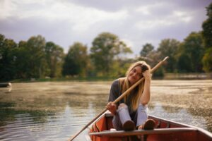 The importance of rowing your own boat and leading your own life.