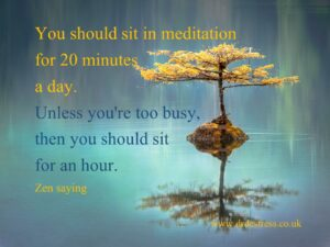 My favourite meditations as a daily supplement for mental health